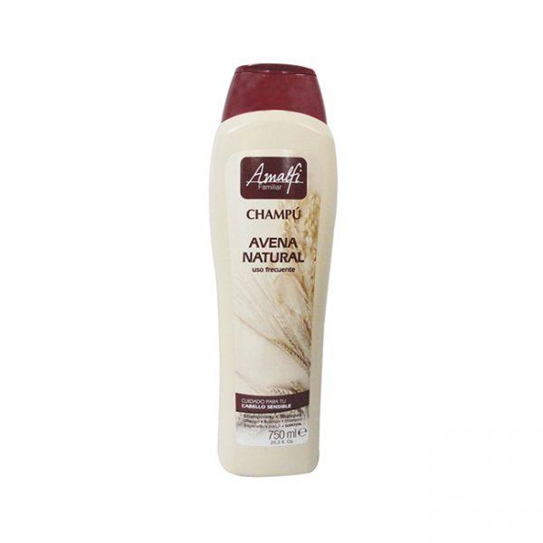 Amalfi Shampoo Familiar Avena Natural 750ml