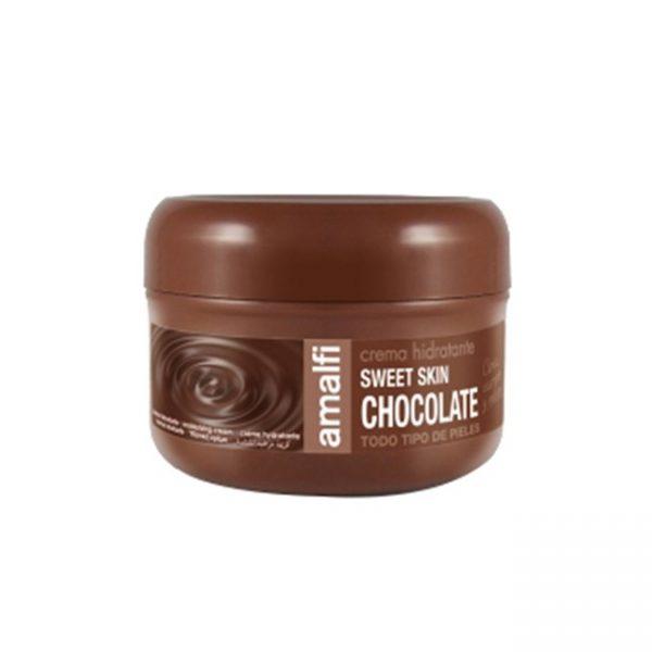 Amalfi Crema Hidratante Chocolate Todo Tipo de Piel 200ml