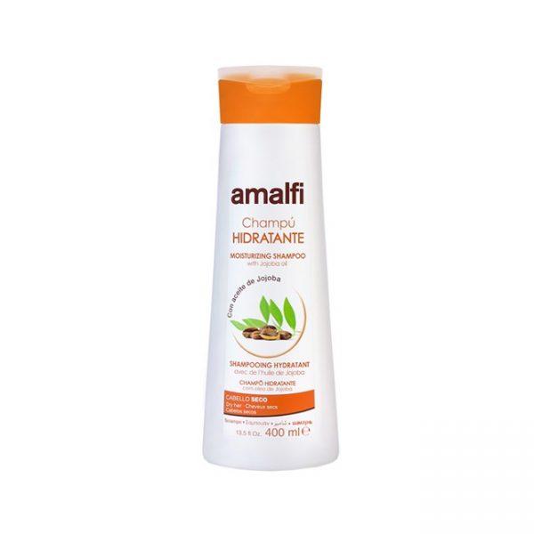 Amalfi Shampoo Hidratante Con Jojoba Cabello Seco 400ml