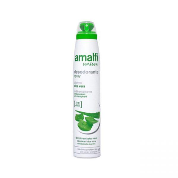 Anti Transpirante Aloe Vera Unisex 200ml Desodorante Amalfi