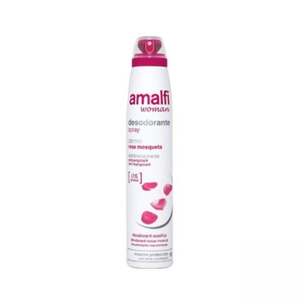 Anti Transpirante Rosa Mosqueta For Women 200ml Desodorante Amalfi