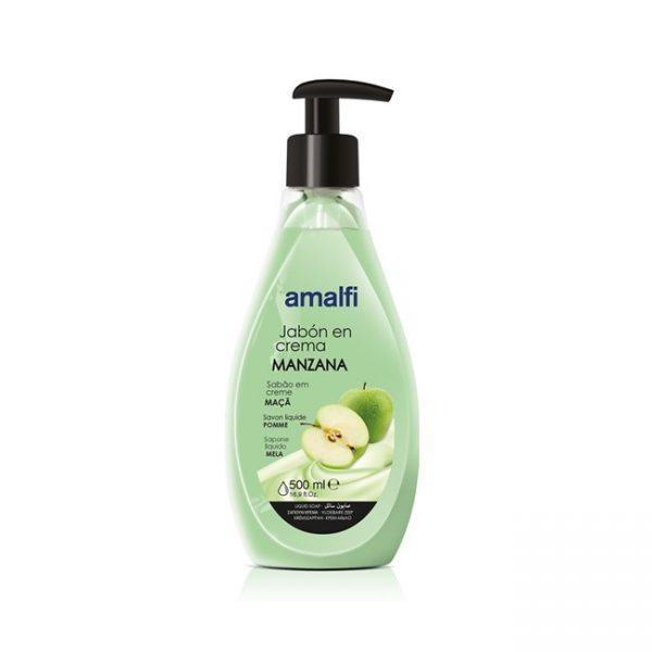 Jabón en Crema Amalfi Manzana 500ml Amalfi