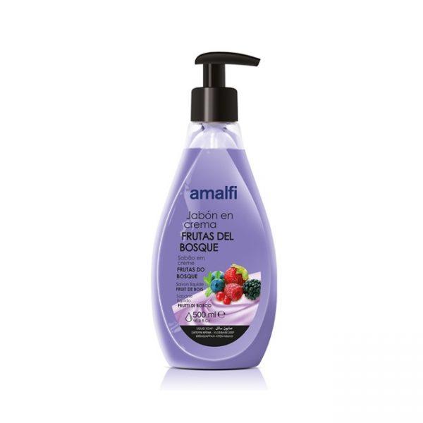 Jabón en Crema Frutas del Bosque 500ml Amalfi