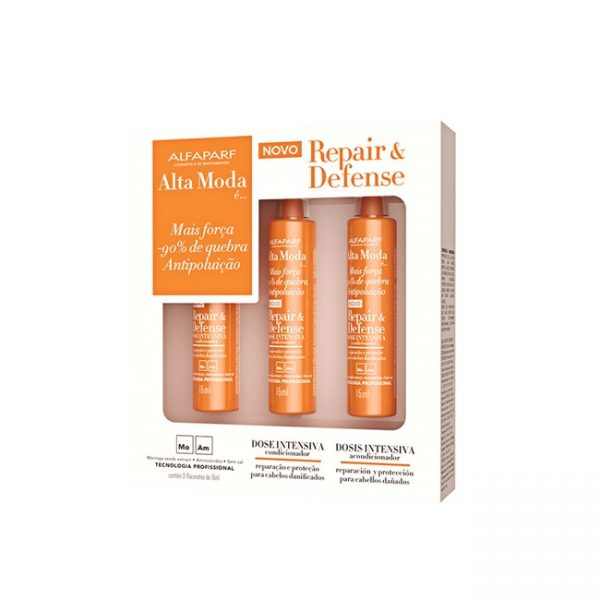 Hair Repair Kit 3 Ampollas 15ml Alta Moda Alfaparf