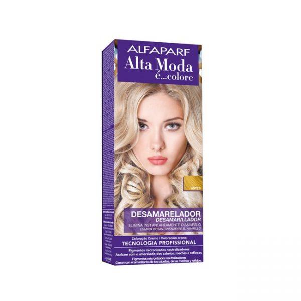 Tinte Kit Alta Moda AlfaParf Anti Amarillo 150gr