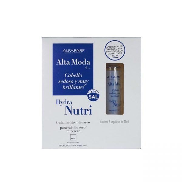 Hydra Nutri Kit Ampolla 3 Unids 15 Ml Alta Moda Alfaparf