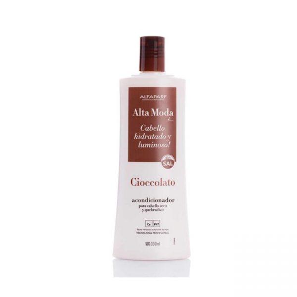 Acondicionador Chocolate 300 Ml Sin Sal Alta Moda Alfaparf