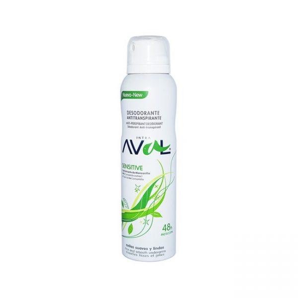Desodorante Antitranspirante Para Mujer Sensitive 150 Ml
