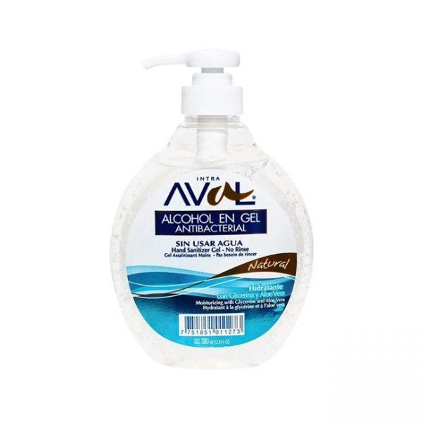 Hand Alcohol En Gel Antibacterial Natural 380ml