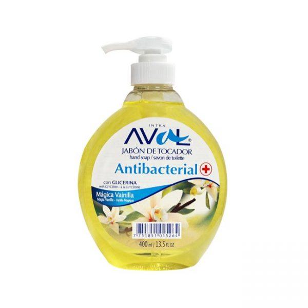 Aval Jabon Liz Antibacterial Mágica Vainilla 400ml