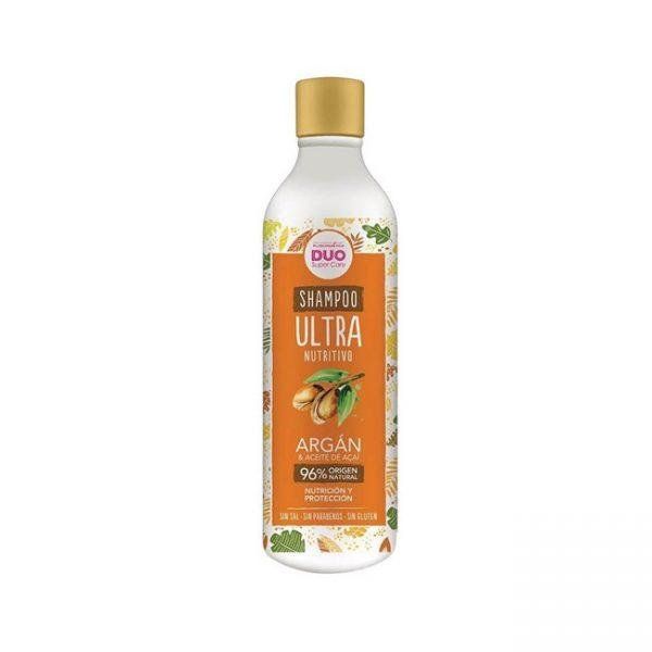 Shampoo Ultra Nutrición Argan Y Acai Sin Sal 340ml