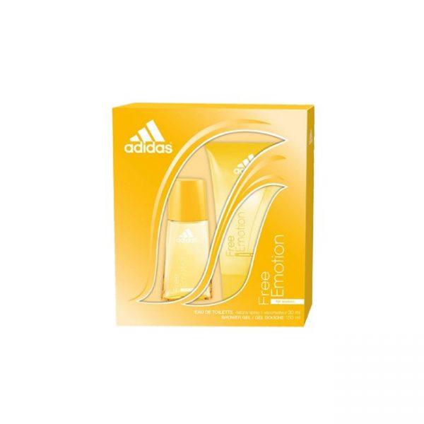 Estuche Adidas EDT 30 + variedad mujer