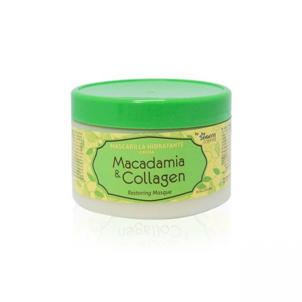 Mascarilla Macadamia Y Collagen 8oz/235ml