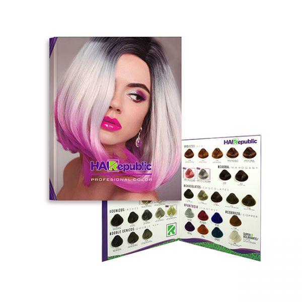 Carta de Color Hair Republic
