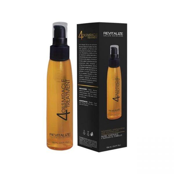 Tratamiento 4 Oils Argan+Macadamia+Oliva+Flax 104ml / 3.5 Oz