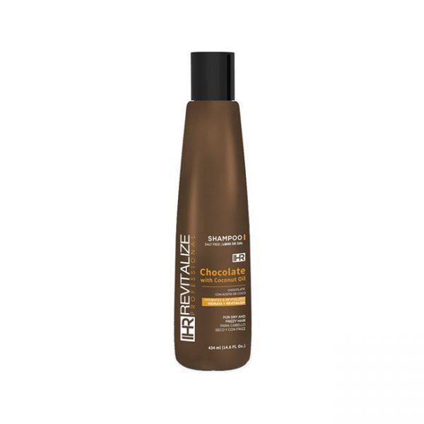 Shampoo Chocolate Y Aceite De Coco 434ml / 14.6 Oz