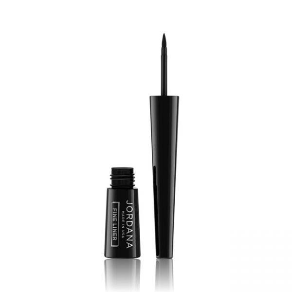 Jordana Delineador Fino Fine Liner 01 Black 2.5ml/.085oz