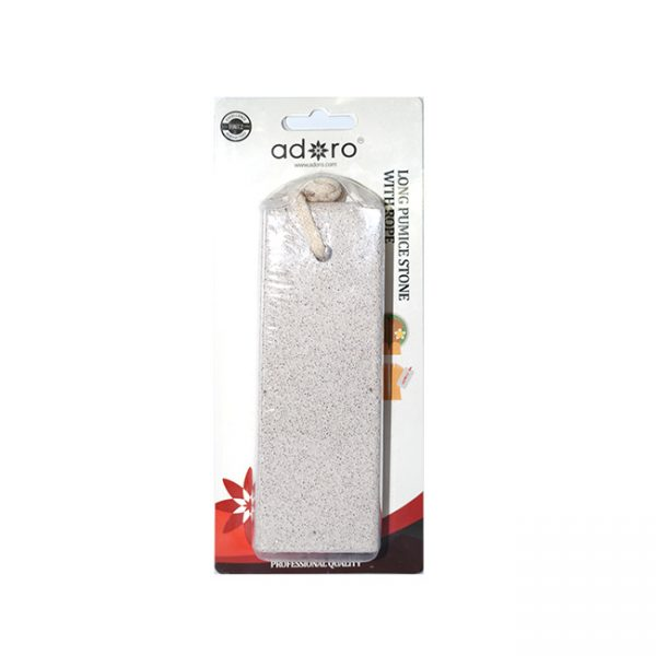 Adoro  Long Pumice Stone With Rope  Unidad