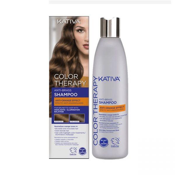 Color Therapy Anti-Brass Shampoo Anti-Anaranjado 250ml / 8.4oz