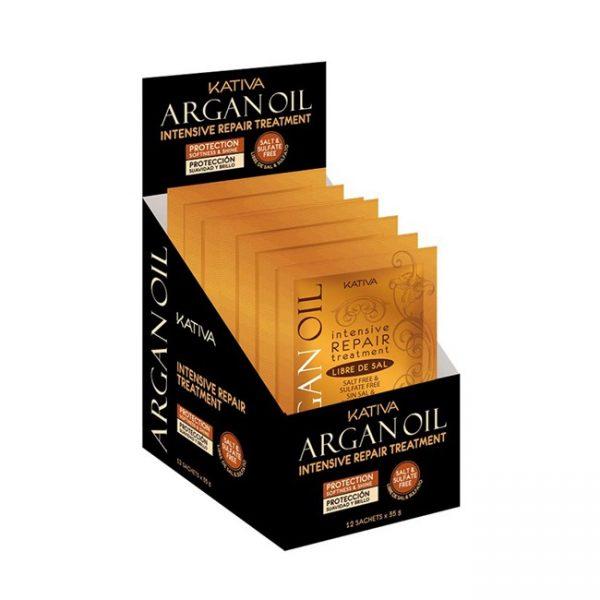 Argan Oil Intense Repair Tratamiento Sachet/35gr