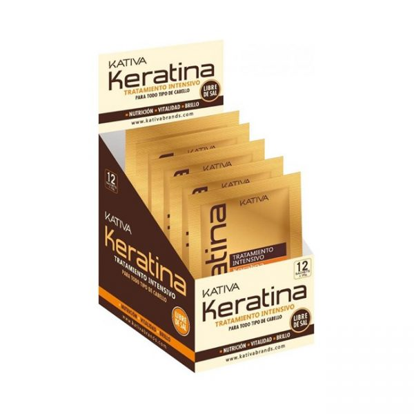 Keratina Tratamiento Intenso Sachet/35gr