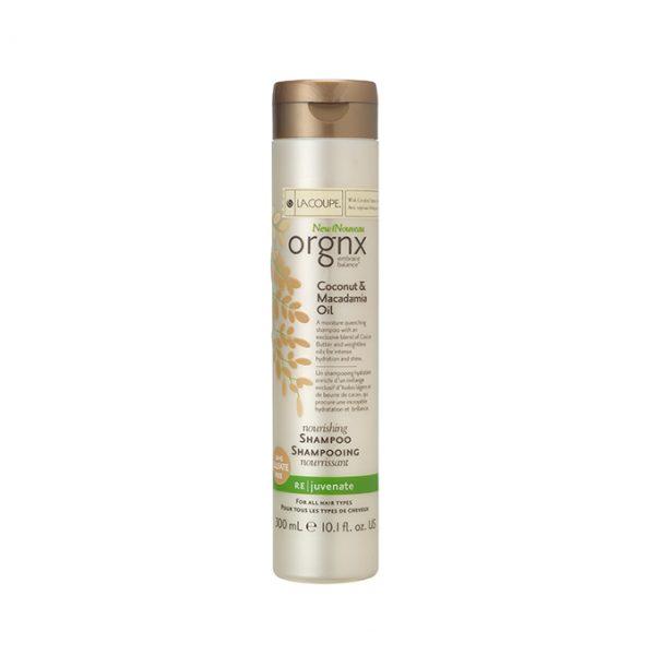 Lacoupe Orgnx Shampoo Coconut & Macadamia Oil 300ml