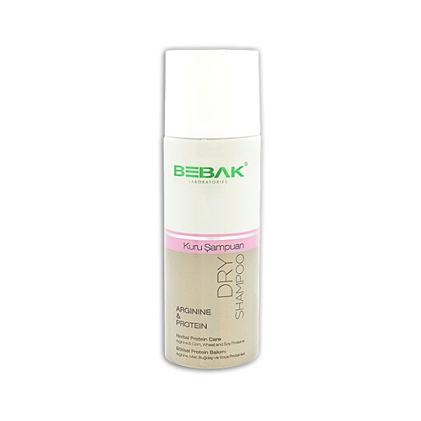 Bebak Dry Shampoo Arginine & Proteing 200ml