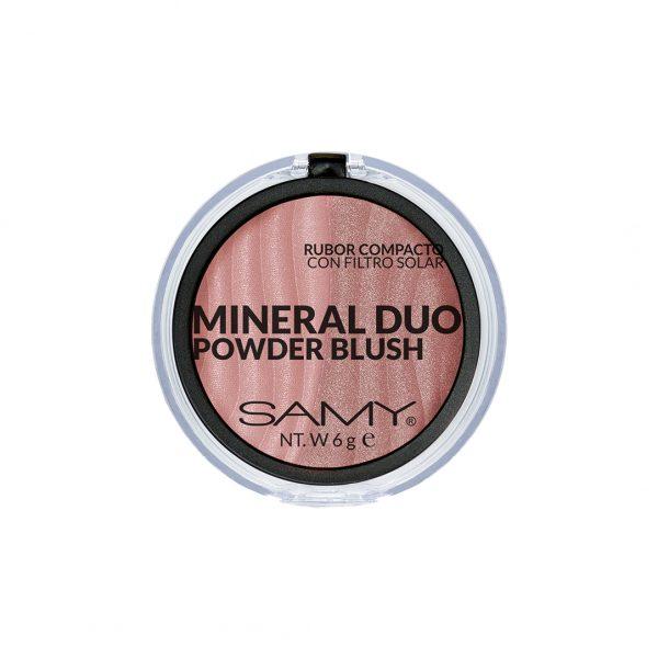 Samy Mineral Duo  Rubor Compacto  6gr