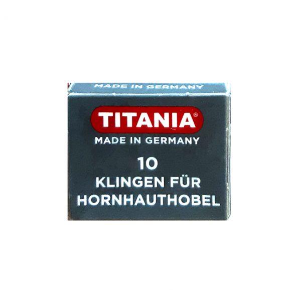 Titania Cuchillas Para Cortar Callos   3100/1x10kn