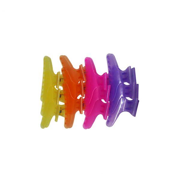 Wangda Ganchos Mariposa De Colores   12 Uni.