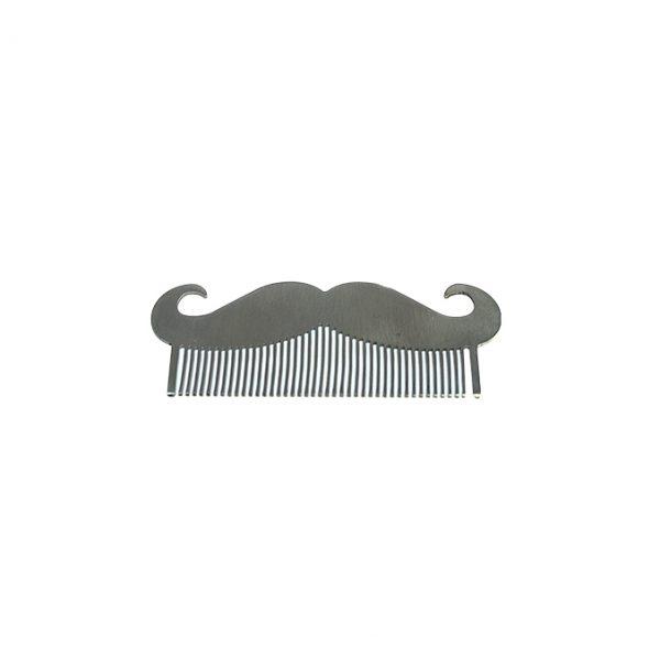 Wangda Cepillo De Metal Para Barba