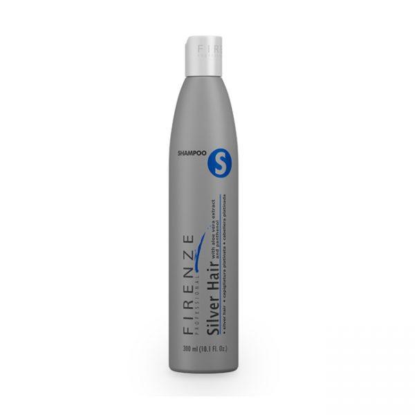 Firenze Silver Hair Shampoo Cabellera Plateada  300ml