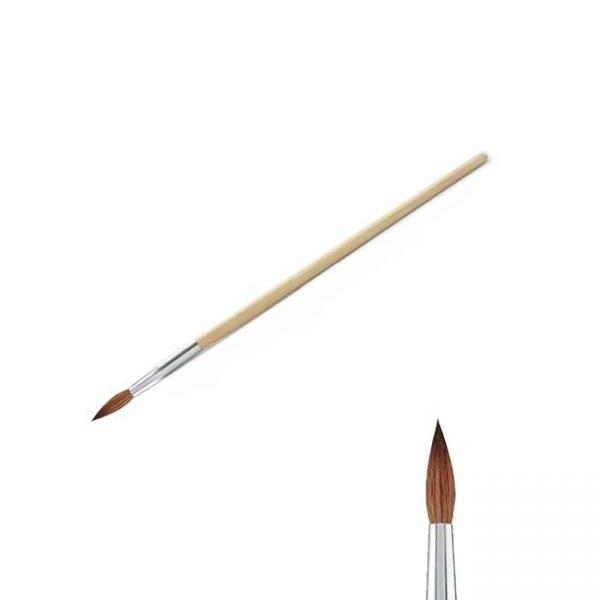 Bmk Pincel Madera Kolinsky #8 Nail Premier