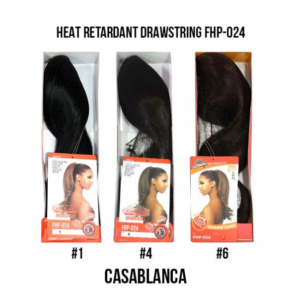 Heat Retardant Drawstring Fhp-024 Extensiones Eve Hair