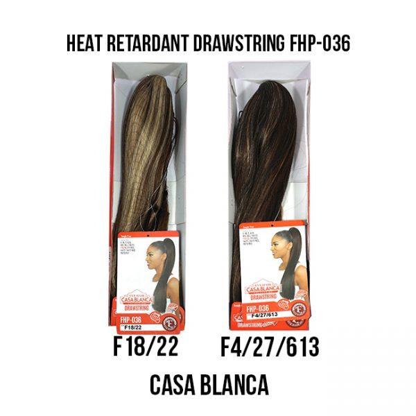 Heat Retardant Drawstring Fhp-036  F Extensiones Eve Hair