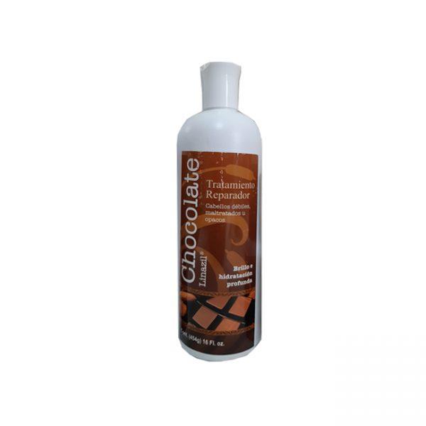Linazil Tratamiento Reparador Chocolate  16 Onz.