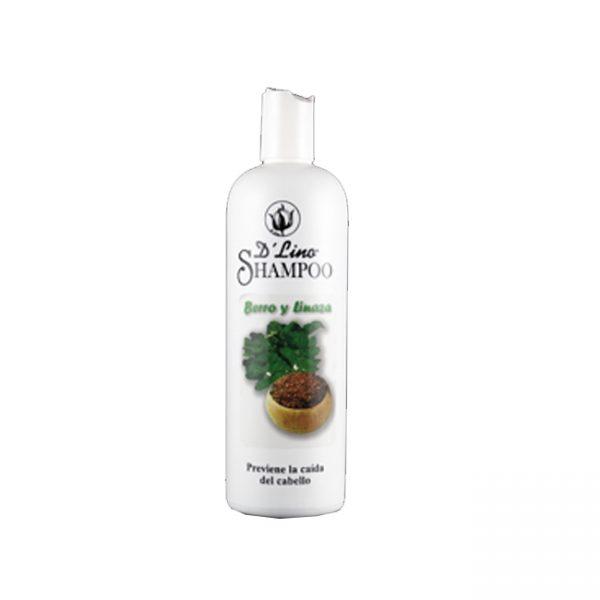 Linazil Shampoo Berro Y Linaza  16 Onz.