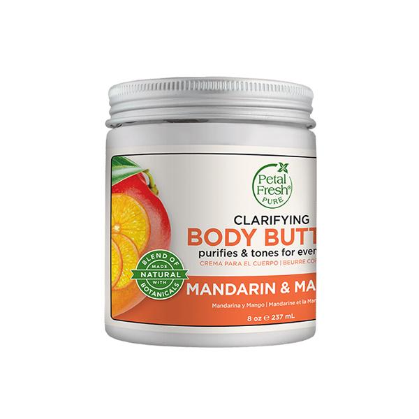 Petal Fresh P. Body Butter Mandarin / Mango  237ml / 8 Oz.
