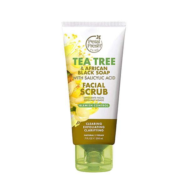 Petal Fresh P. Blemish Control Tea Tree Facial Scrub 200ml / 7 Oz.