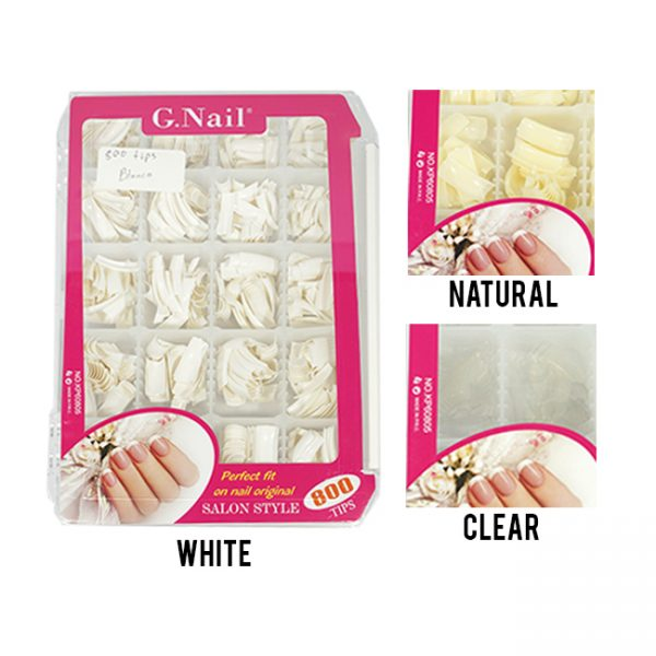 Nb G.Nail Caja De Tips 800 Un.