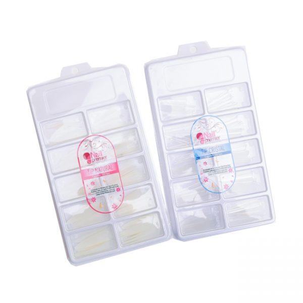 Tips para Uñas Nail Premier Caja de 100