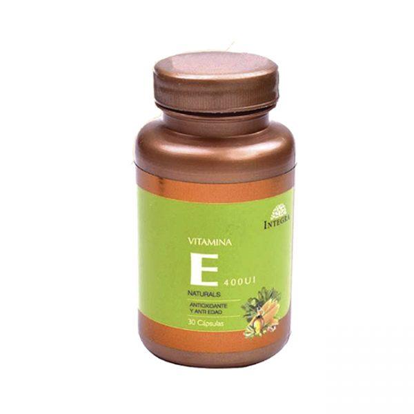 Integra Anti Oxidante Vitamina E  X 30 Tabs