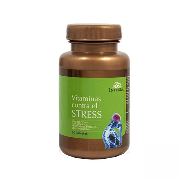 Integra Vitaminas Contra El Stress  X 60 Tabs
