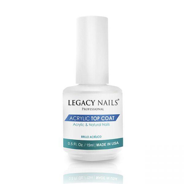 Legacy Nail Acrylic Top Coat 1/2  Oz.
