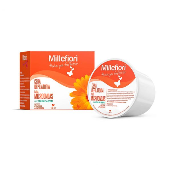 Millefiori Cera Depilatoria Para Microondas 180gr
