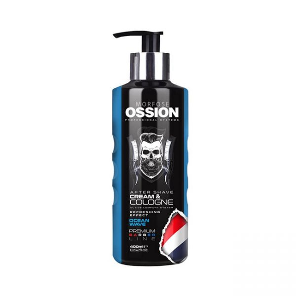 Ossion Prm.Barber.Line After Shave Cream & Cologne Ocean Wave 400ml