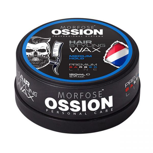 Ossion Prm.Barber.Line Hair Wax Medium Hold 150ml