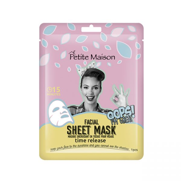 Petite Maison Facial Sheet Mask 25ml Time Release